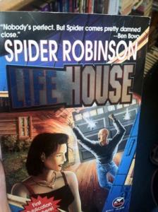 Spider Robinson Book Cover