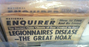 Legionnaires Disease: The Great Hoax