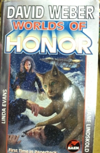 Worlds of Honor, featuring a six-legged sentient cat thing