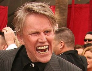 Scandalized Gary Busey