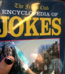 The Friar's Club Encyclopedia of Jokes.