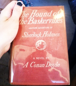 The Hound of the Baskervilles, first edition