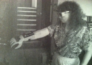 Glasses and Power Glove