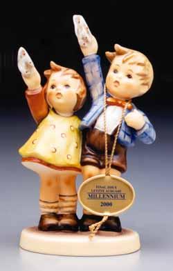 Hummel figurines.