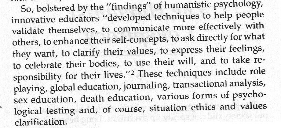 Humanist techniques