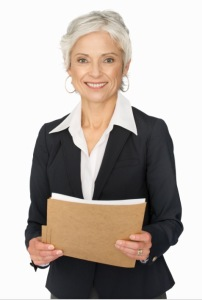 white businesswoman, stock photo