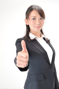 Japanese businesswoman, stock photo