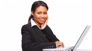 Black businesswoman, stock photo