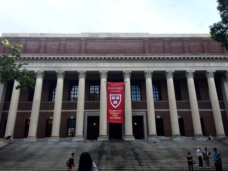 Widener Library, Harvard