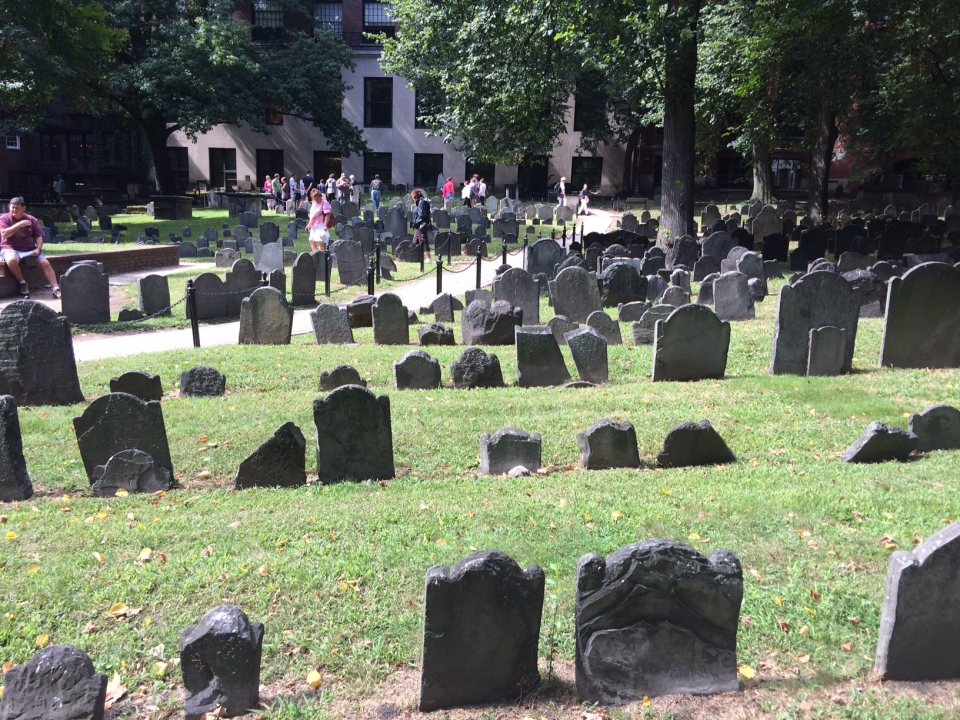 The Granary Burying Ground