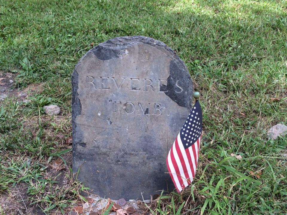 Paul Revere's headstone