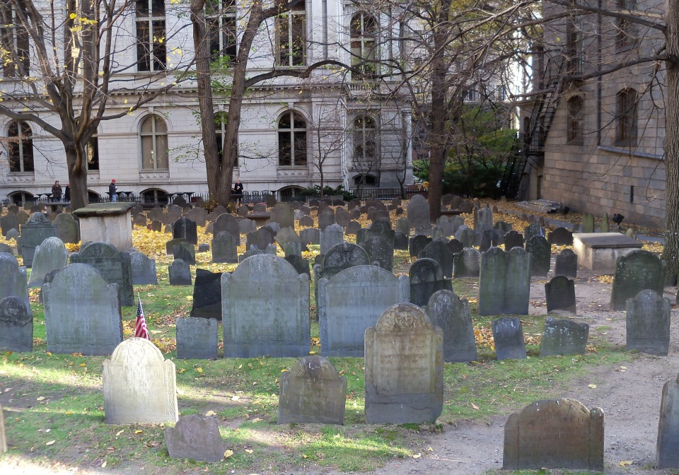 King's Burying Ground, Boston