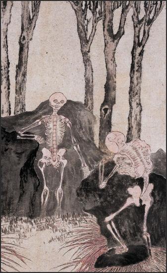 Luo Ping, Skeletons