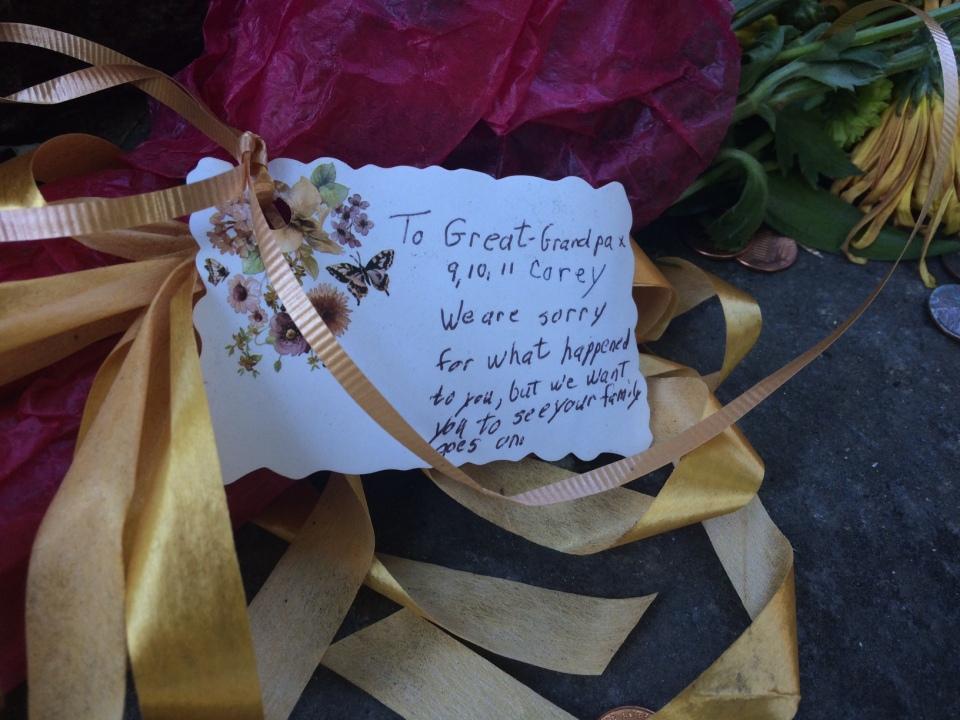 Dear Great Grandpa Corey