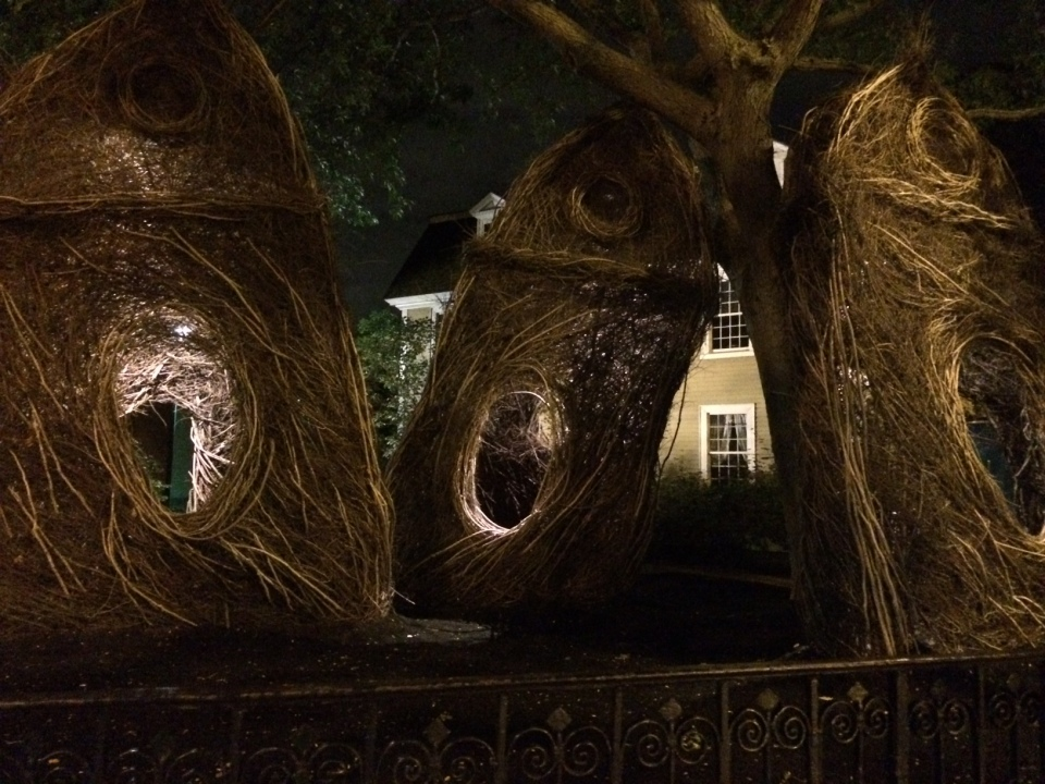 Patrick Dougherty, Sticksworks, Salem, Massachusetts
