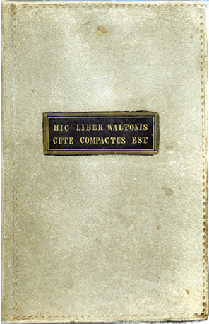Narrative of the Life of James Allen, bound in human skin.