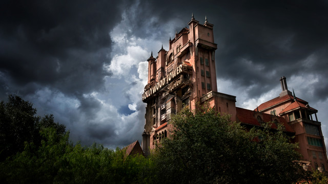 Tower of Terror, Hollywood Tower Hotel, Disney World Hollywood Studios