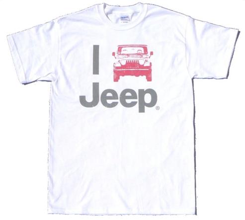 I jeep jeep, I heart jeep