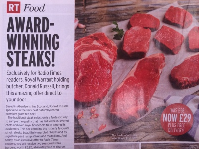 Order meat through the mail, award-winning steaks