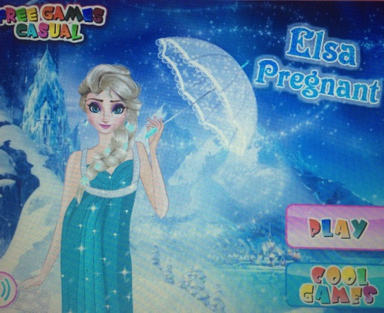 Elsa Pregnant game