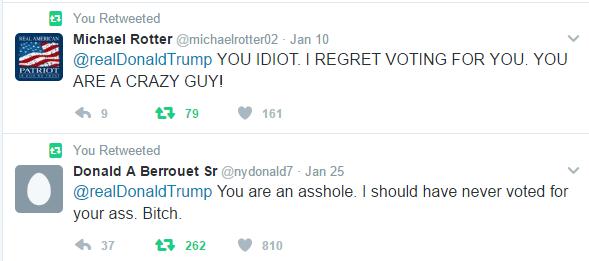 TrumpRegrets